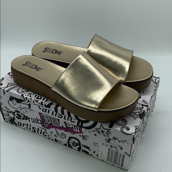 Brash Women's Nika Platform Slide Sandal Size 10